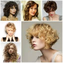 haircuts 2017 for wavy hair short to medium curly hairstyles 2017 34 with short to