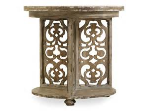 hooker accent table hooker furniture living room chatelet round accent table