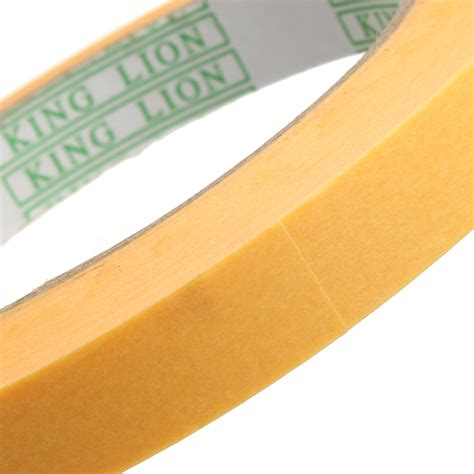 sticky craft paper yellow paper sticky masking adhesive roll label diy