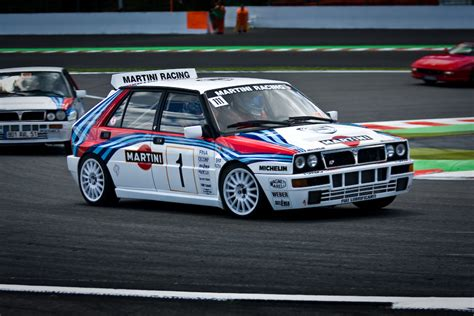 any fans of this rally legend here the lancia delta