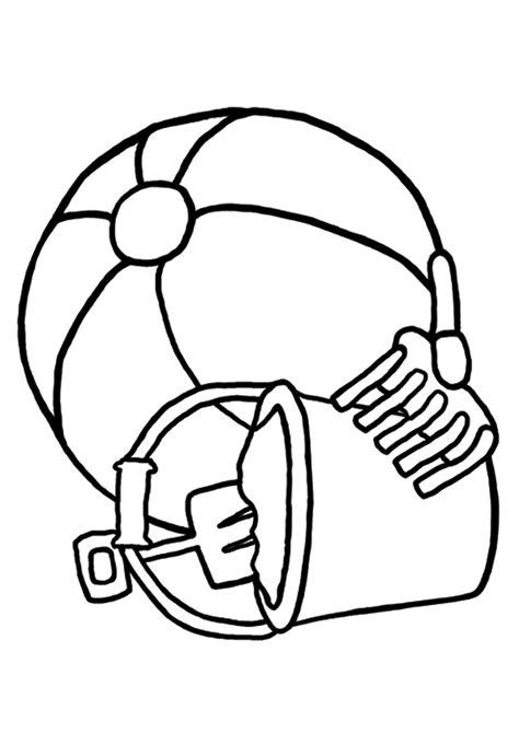 Gambar Mewarnai Bola Untuk Anak PAUD dan TK