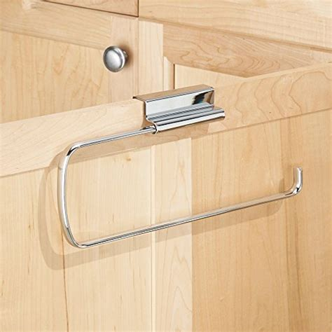 over the cabinet paper towel holder interdesign axis over the cabinet paper towel holder
