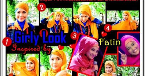 tutorial jilbab fatin segiempat tutorial jilbab untuk hijaber indonesia tutorial jilbab