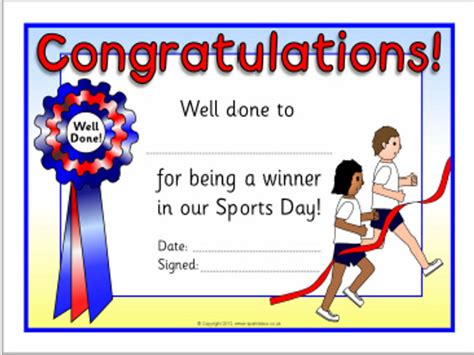 Sports Day Certificate Template by Awesome Sports Award Template Images Exle Resume