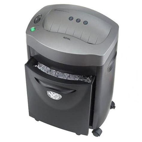 top rated paper shredder royal 85x confetti cut paper shredder 10464556
