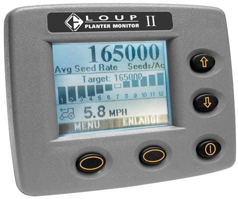 loup ii planter monitor accurate population monitor for