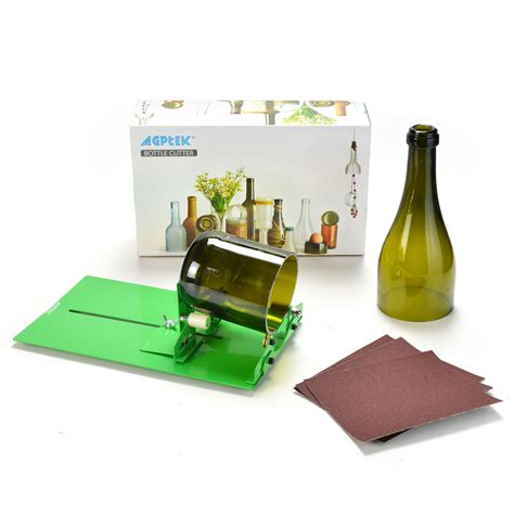 Bottle Cutter Brings Recycling Home by Agptek Glass Bottle Cutter Machine Cutting Tool For