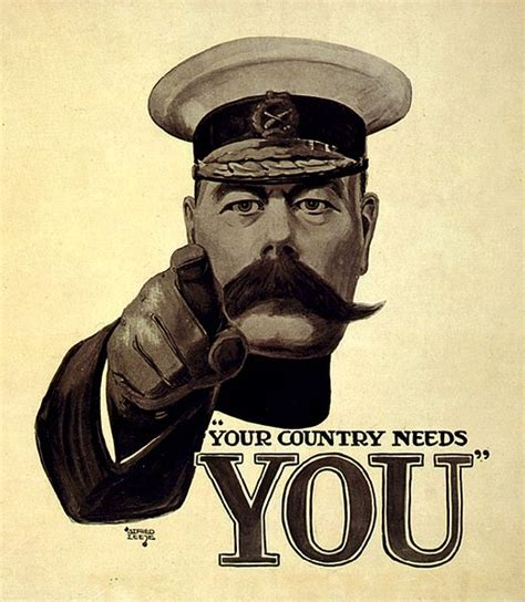 Kitchener Poster Font by Original Britons Wants You Poster