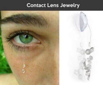 Contact Lens Meme - this obviously impaired her vision rebrn com