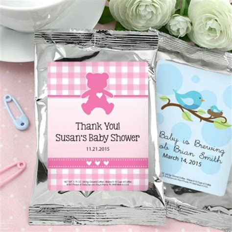 Personalized Baby Shower Favors by Baby Shower Personalized Coffee Favors