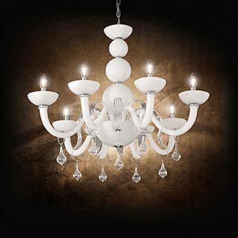 lustre pour chambre à coucher lustre blanc romantique en verre pour chambre 224 coucher