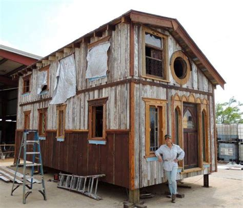 where can i buy a tiny house tiny texas homes built from salvaged materials urban ghosts