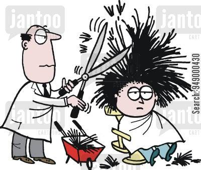haircut cartoon video haircut cartoons humor from jantoo cartoons