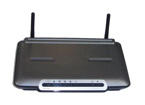 Jual Modem Router Speedy belkin f5d7633 4 adsl modem with high speed mode wireless