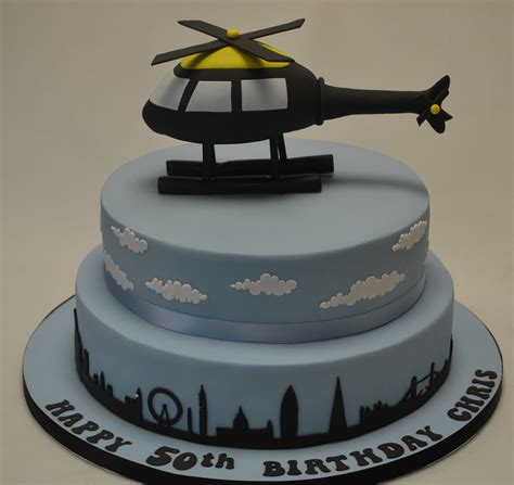 Birthday Decorations At Home Photos skyline cake with helicopter model boys birthday cakes