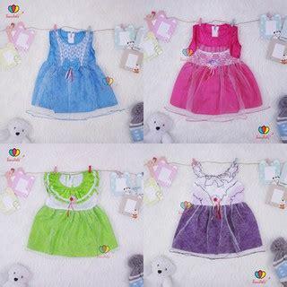 Dress Kaos Kemeja Celana Kanvas 3 12 Bulan Lobo Babyqu Size 4 gaun bayi uk 0 12 bulan dress baby murah baju bayi perempuan cewek gaun pesta anak kado