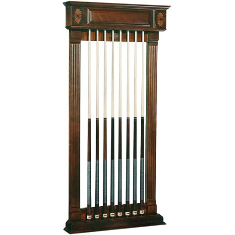 wall rack billiard cue racks the great escape