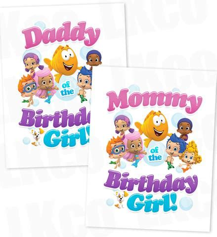 bubble guppies printable iron on printable baby kids iron on transfers by lkco page 2