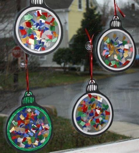 Weihnachtsdeko Fenster Kinder Basteln by 100 Tolle Weihnachtsbastelideen Archzine Net