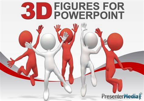 free 3d powerpoint template presenter media yourbackupemployee