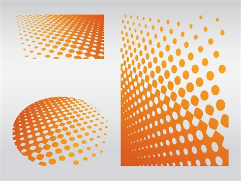ai dot pattern 11 gradient dot pattern vector images free vector dot