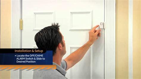 Door Window Entry Alarm Mini Gembok Alarm Pintu Jendela Sernaguna ge personal security window door alarm