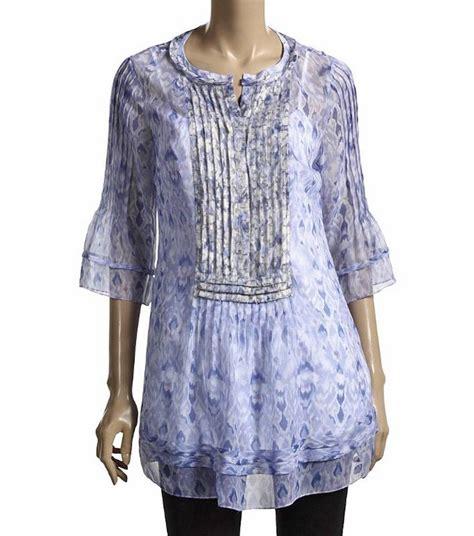 Venetta Blouse Limited elie tahari blue print silk jillie blouse top tunic nwt medium 298 ebay