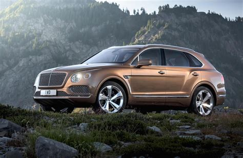 Bentley Bentayga Revealed Official Performancedrive