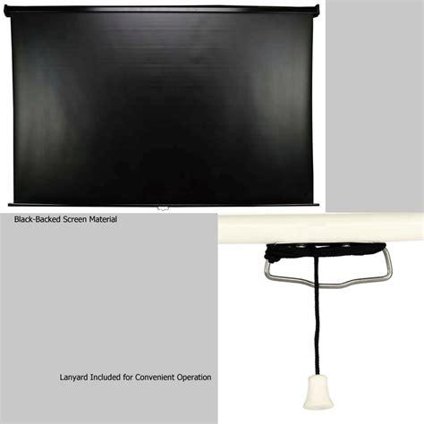 Brite Manual Pull 84 Quot elite screens manual series 16 9 or 16 10 widescreen pull