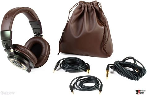 Sale Audio Technica Ath M50x Headphone Recording Black Color Fl audio technica ath m50x limited edition brown and black photo 1142071 canuck audio mart