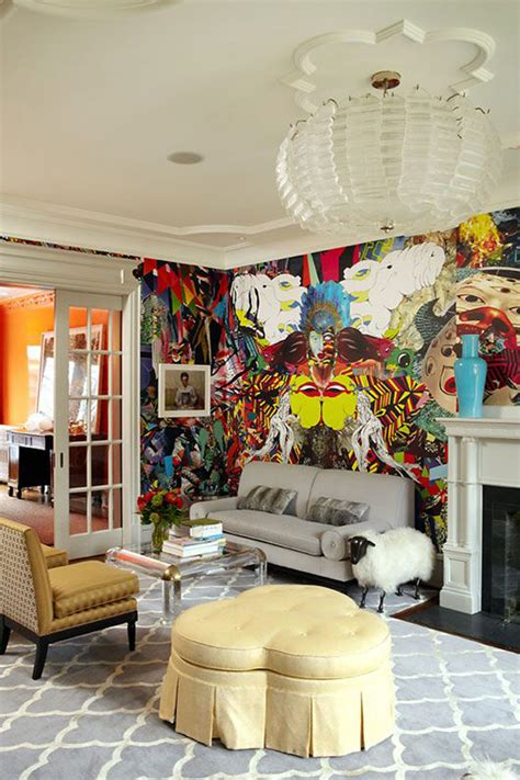 Graffiti Living Room by Add A Modern Touch With Graffiti As Wall 171 Saybrook