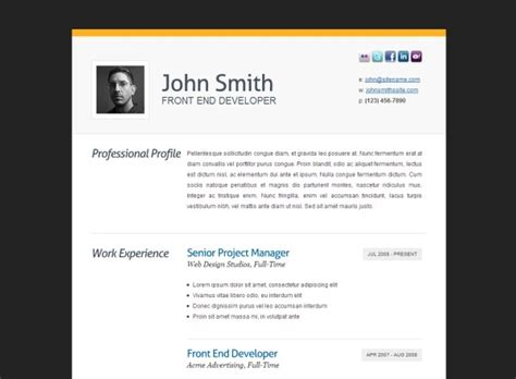 resume template with picture insert best resume gallery