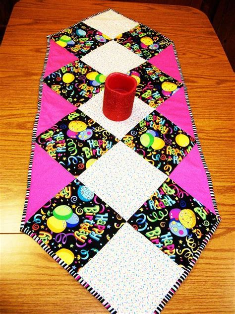 sew easy table sew easy table runner by dorinda d quilting pattern