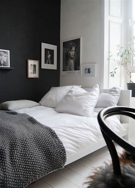 small bedroom decorating ideas black and white 35 eleganti camere da letto in bianco e nero mondodesign it