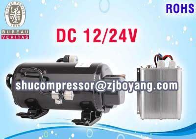 12volt r134a inverter air conditioner compressor for marine truck mining construction