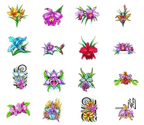 small orchid tattoo pin small orchid designs tagged as on