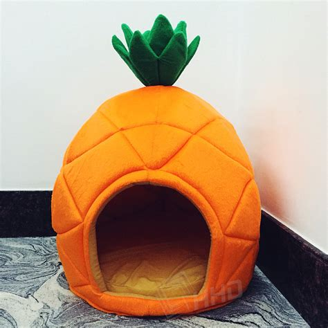 is pineapple for dogs 2 size creative pineapple pet house sleep basket cat