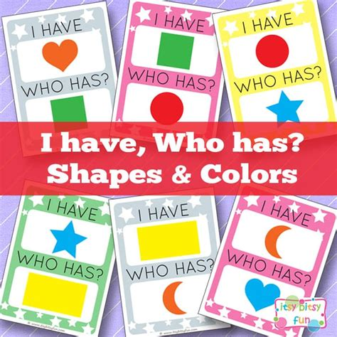 i who has template i who has shapes and colors itsy bitsy