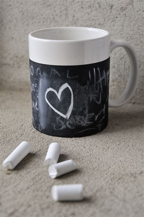 diy chalkboard coffee mug chalkboard coffee mug 13 diy gifts for