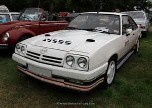 Opel Manta I200 Opel 1984 Manta B Irmscher I200 The History Of Cars