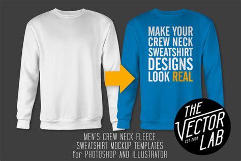 crew neck sweater template psd sweater grey