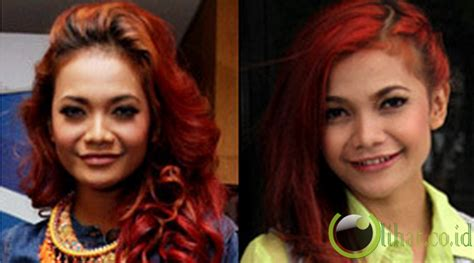 Wig Keriting Rehana By Wig terdambakan 5 selebritis indonesia yang hobi gonta ganti