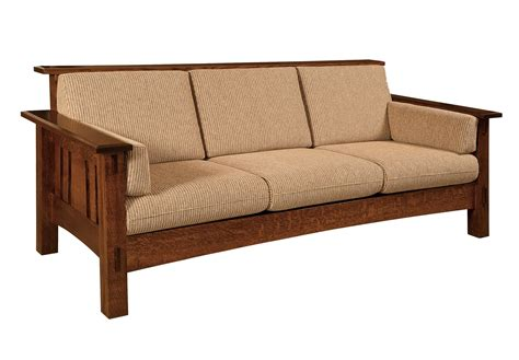 Amish Sofa by Amish Mccoy Sofa