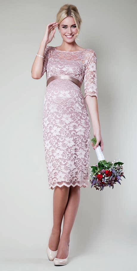 Amalia Batwing maternity dress lace