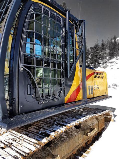 excavator fops window guards protection catwalks tysea