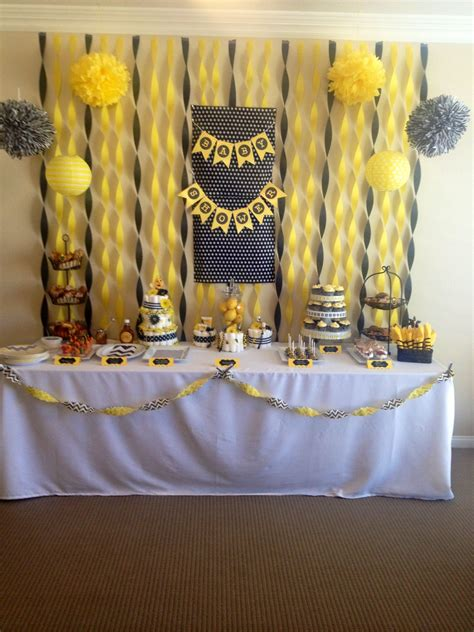 Bees Baby Shower Theme by To Bee Baby Shower Bumble Bee Theme Shower Baby