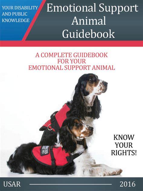register as emotional support animal emotional support animal guidebook e book 187 us registry