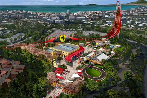 theme park new zealand ferrari to open theme park in spain stuff co nz