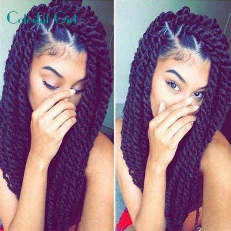 burgundy senegalese twists 24inch 12roots crochet braid hair senegalese twist ombre