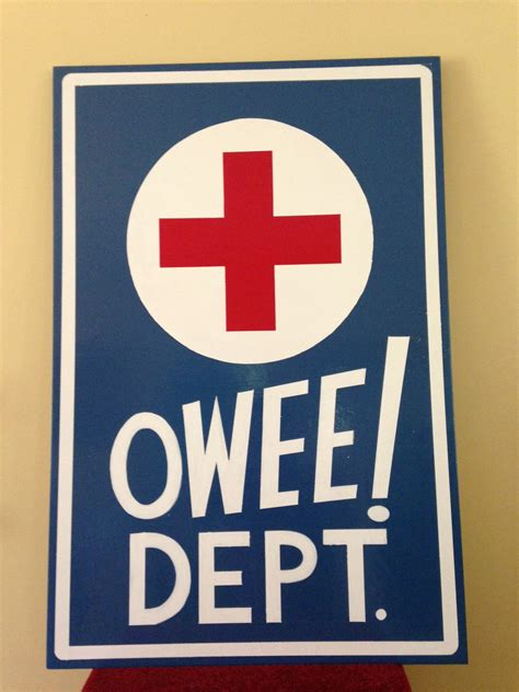 oficina first medical elementary school nurses office sign salon pinterest